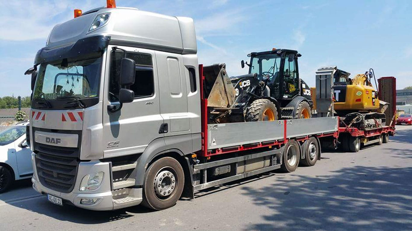 DAF CF 460 Bagger Transport