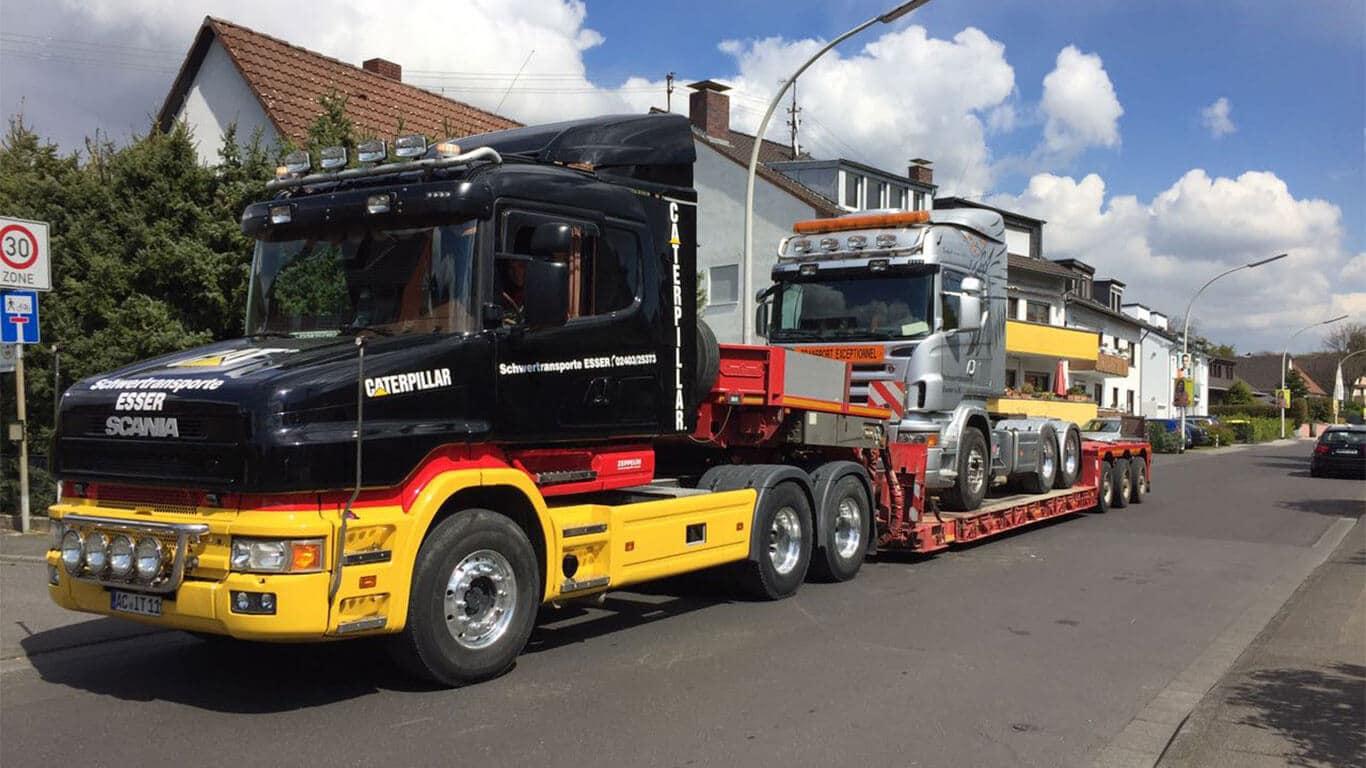 Scania T580 Scania LKW
