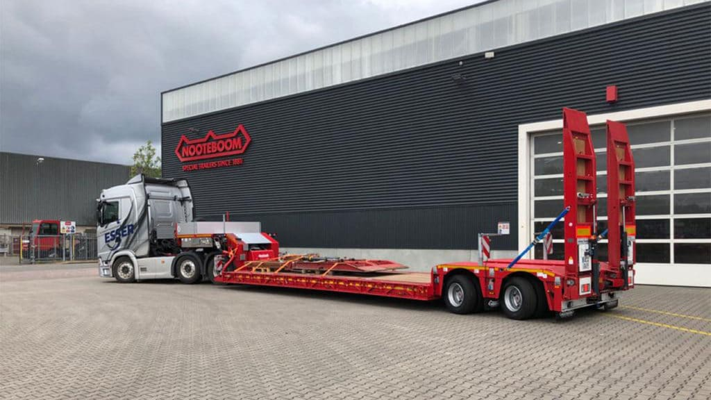 Neuer Nooteboom Euro 3802 Esser Schwertransporte