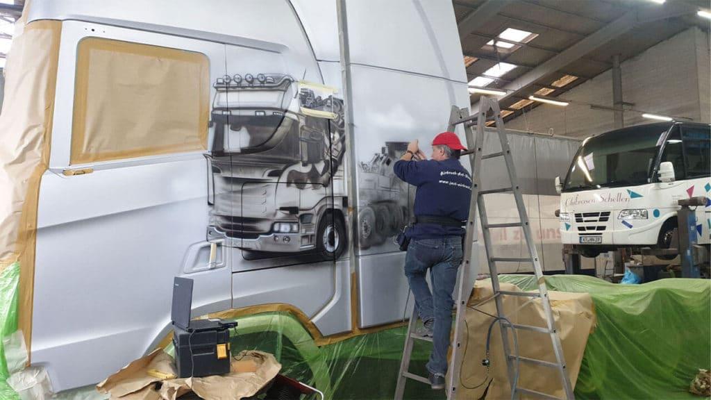 Neuer Scania S730 Esser Schwertransporte