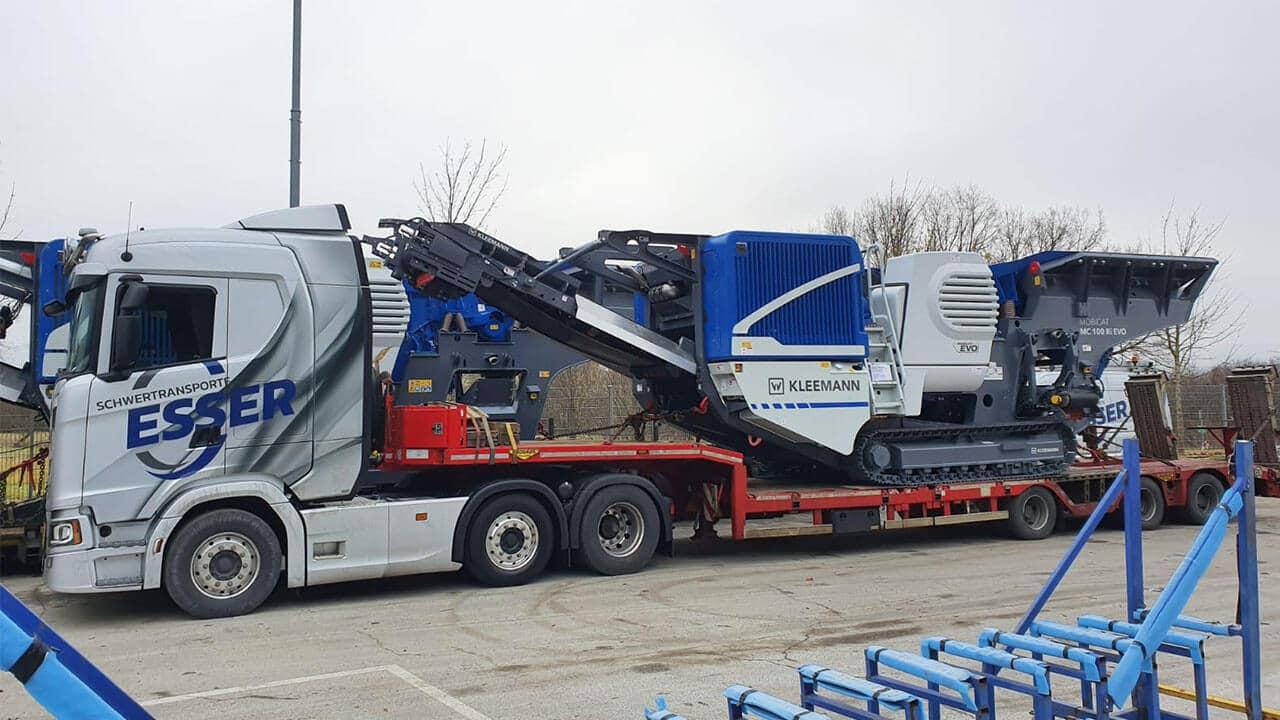 Scania S 500 mit Kleemann MC-100 R EVO
